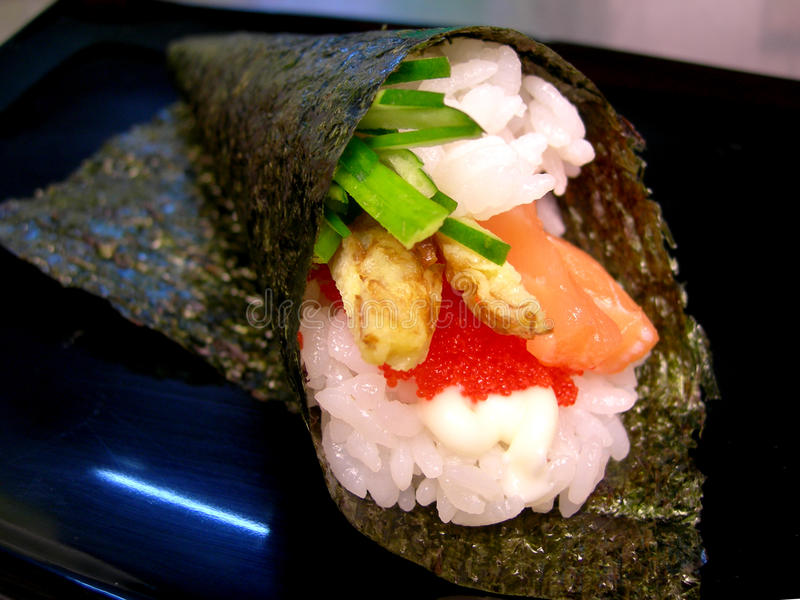 Download Hand roll stock photo. Image of cuisine, roll, tradition - 18287612