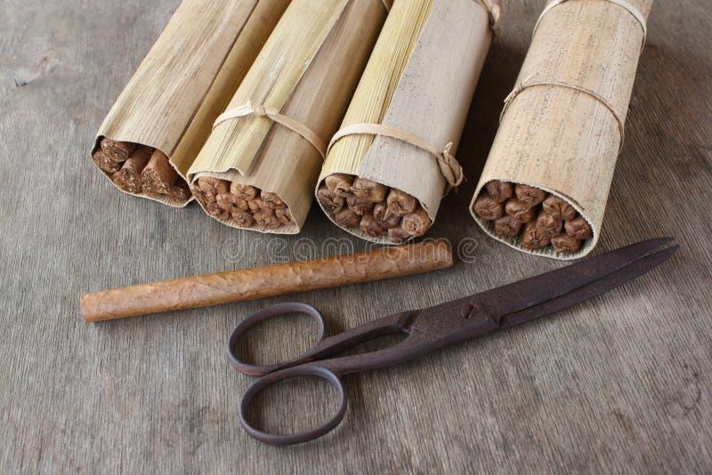 Download Hand-rolled Cuban Cigars, Havana Stock Image - Image: 23242343