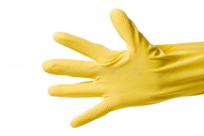Download Hand In Rubber Glove Stock Images - Image: 10761784