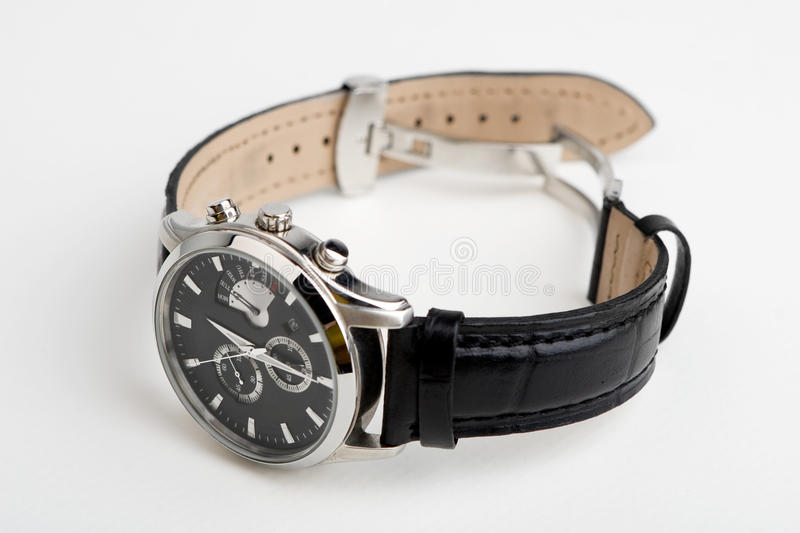 Hand's watch isolated royalty free stock photo
