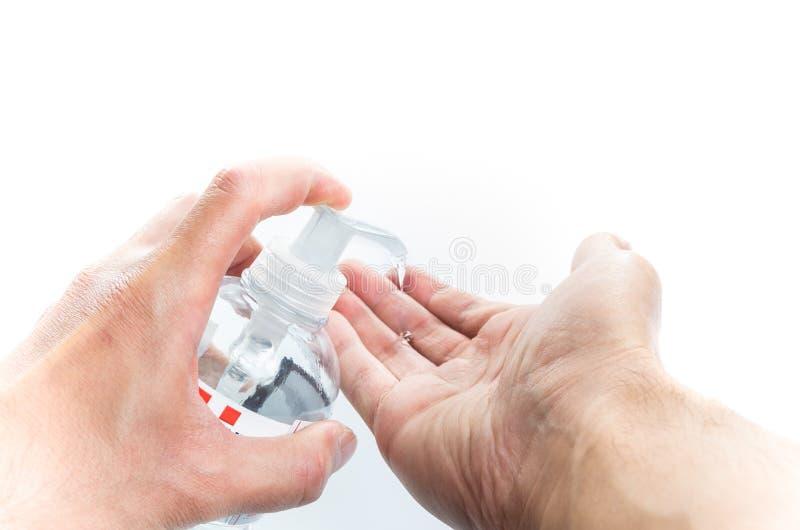 Hand Sanitizing royalty free stock images