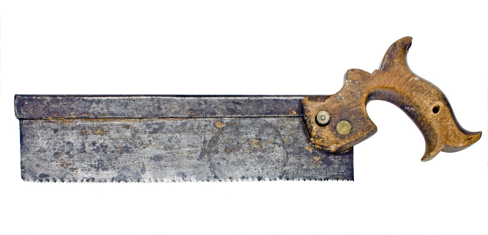 Download Hand saw stock image. Image of vintage, yourself, cutter - 24295477