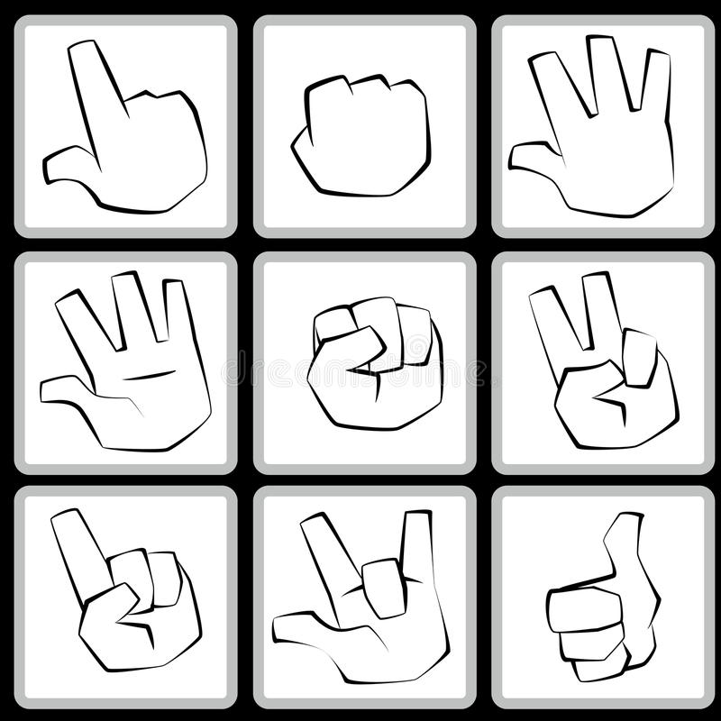 Hand Set Royalty Free Stock Images