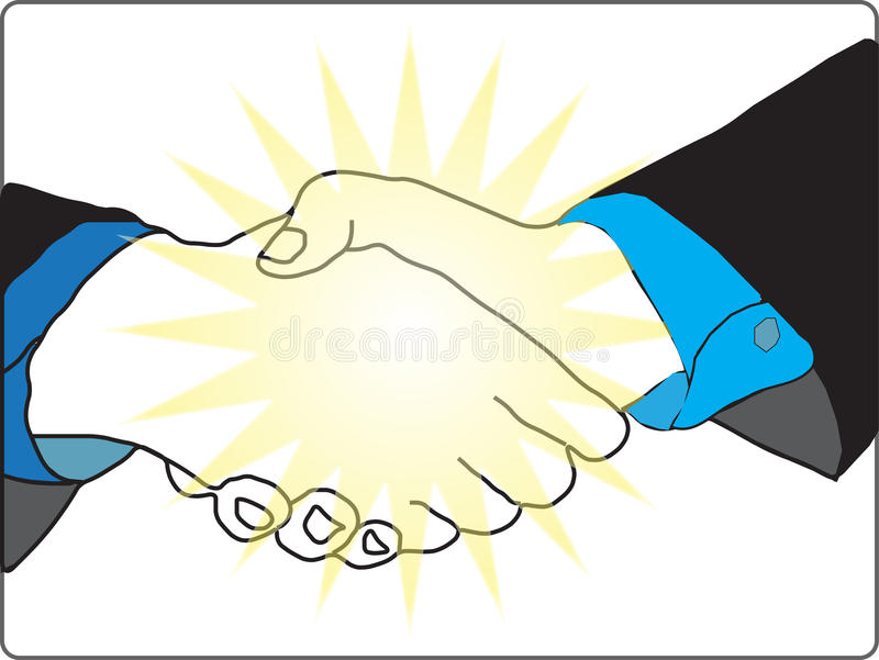 Download Hand shake stock vector. Illustration of company, corporate - 11514218