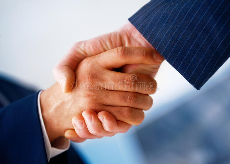 Download Hand Shake. stock photo. Image of hand, coalition, business - 14855714