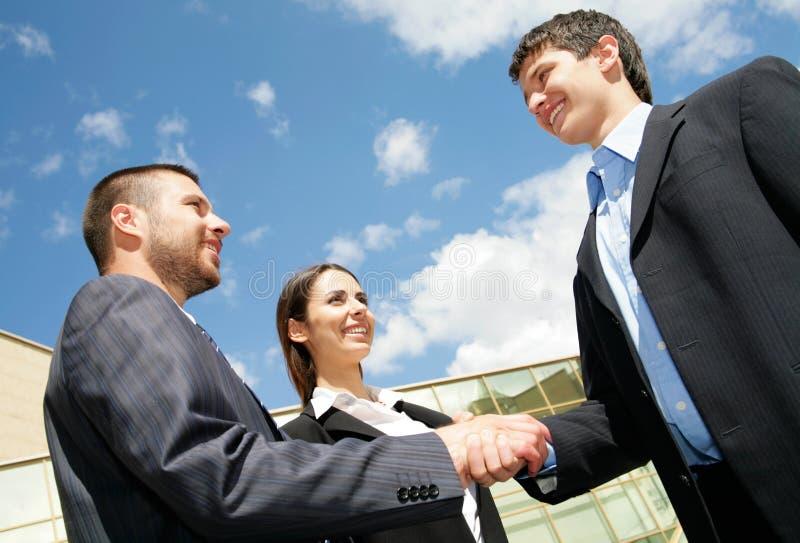 Hand Shake Stock Images
