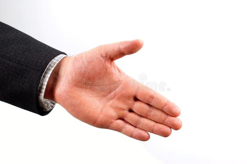 Hand shake stock photos