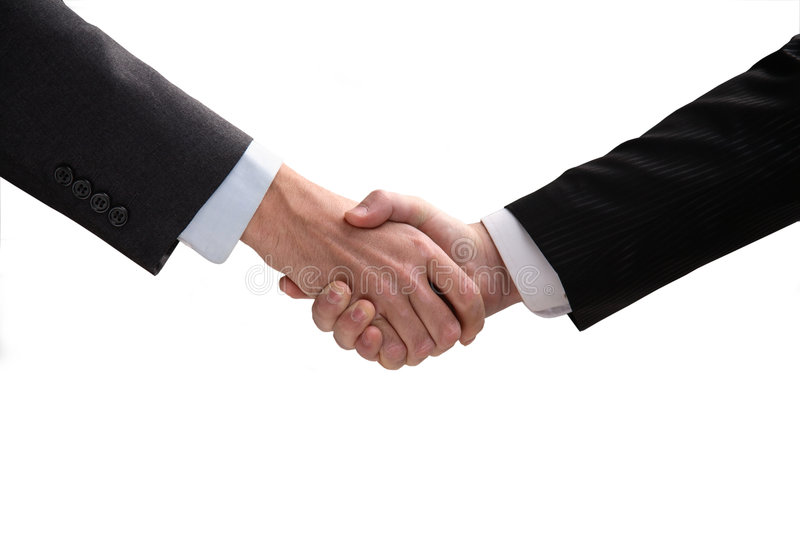 Download Hand shake. stock image. Image of horizontal, form, greeting - 7135689