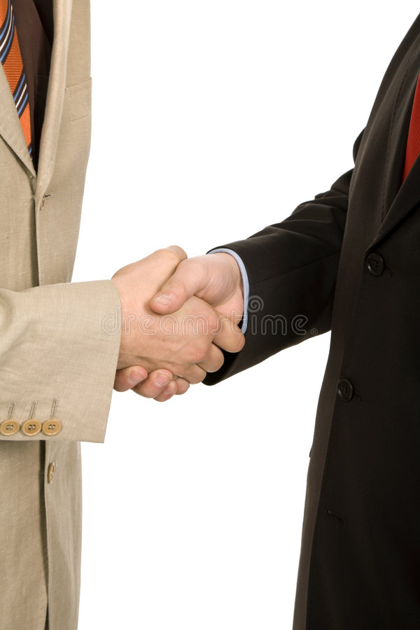 Download Hand shake stock image. Image of achievement, isolated - 7707141