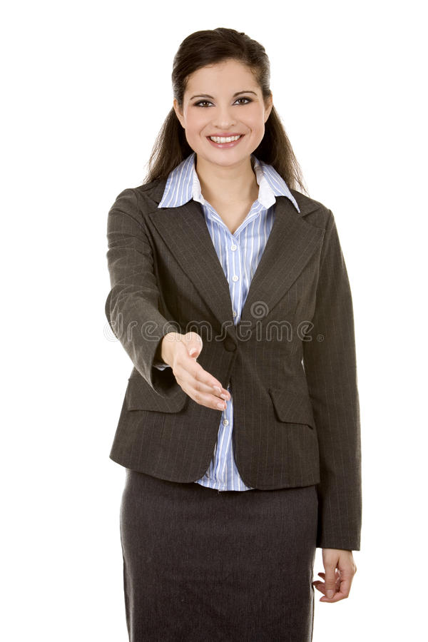 Download Hand Shake From Business Woman Stock Photo - Image: 23194648