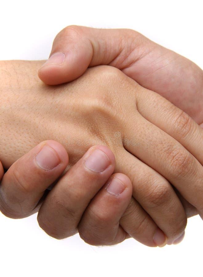 Hand Shake close up royalty free stock photo