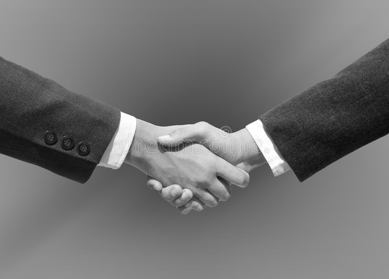 Hand Shaking royalty free stock photography