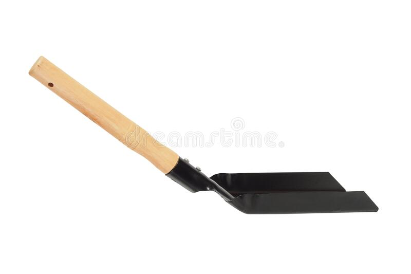Hand shovel for coal and ash royalty free stock image