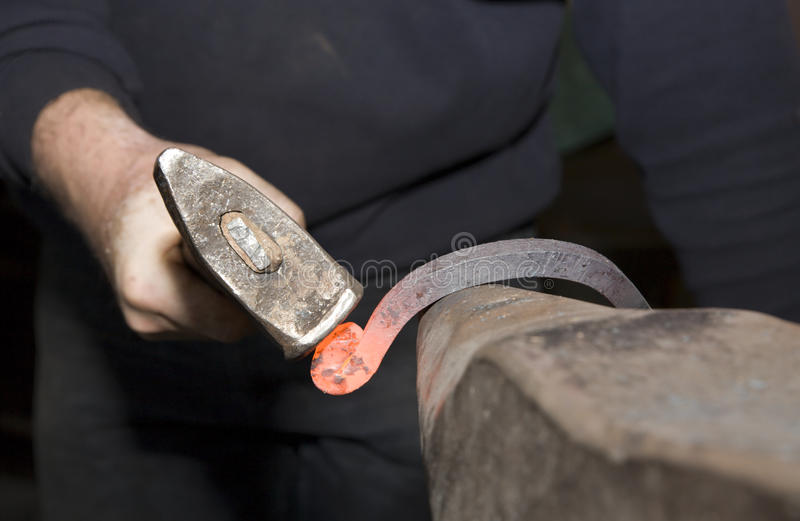 Download Hand of smith by the work stock image. Image of handmade - 16648271