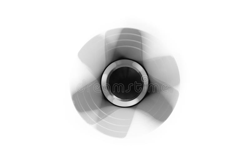 Hand spinner. A fidget toy for increased focus, stress relief. Hand spinner. A fidget toy for increased focus, stress relief on white background royalty free stock photos