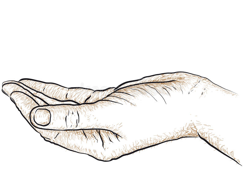 Download Hand Supporting Royalty Free Stock Image - Image: 29695276