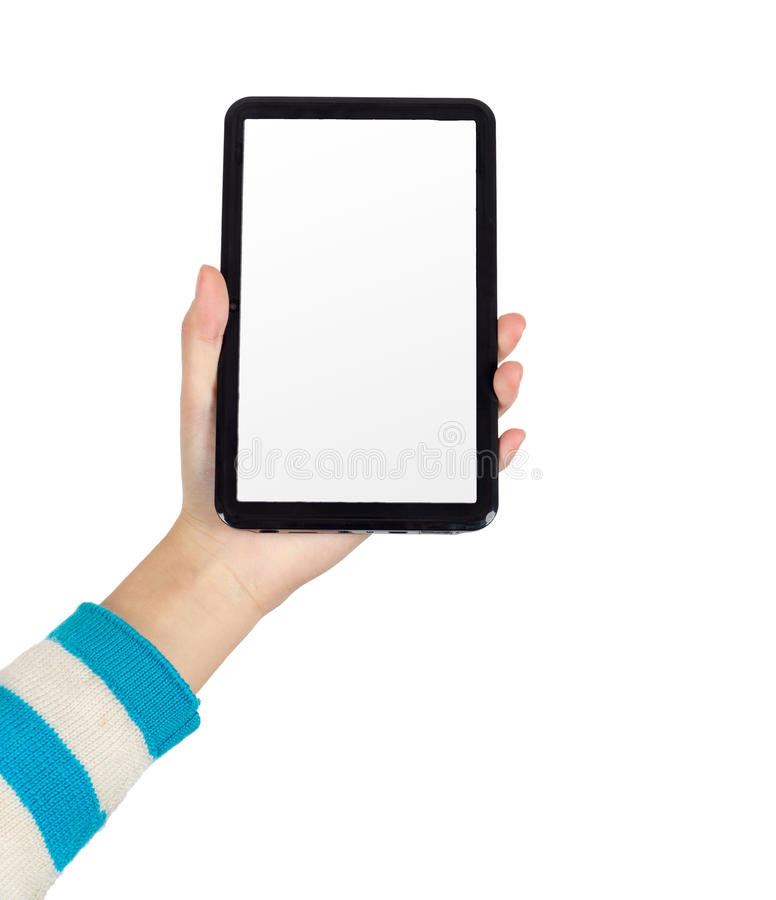 Download Hand Tablet PC stock photo. Image of person, internet - 29023348