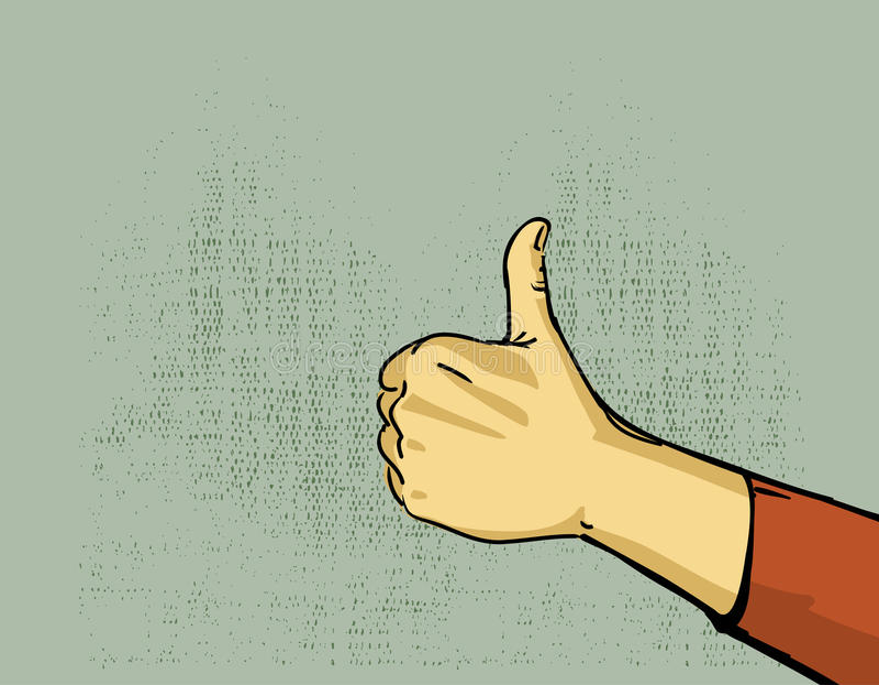 Hand Thumb Up Royalty Free Stock Photo