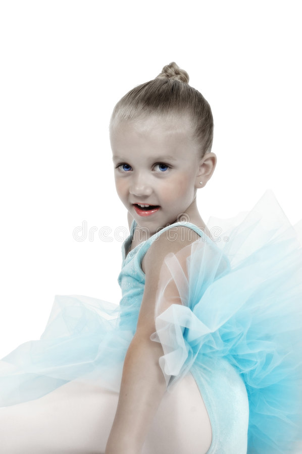 Download Hand Tinted Ballerina stock image. Image of bent, happy - 799727