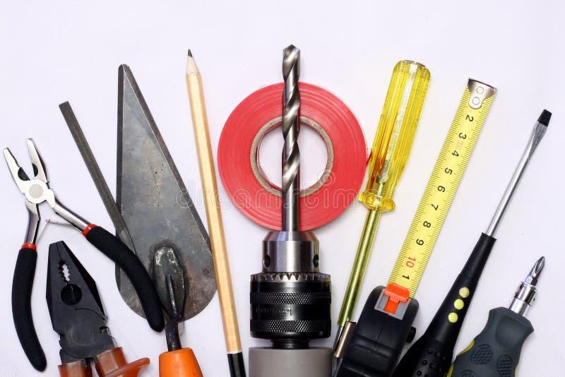 Hand tools stock image