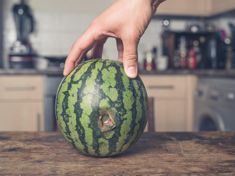Male watermelon hole — photo 7