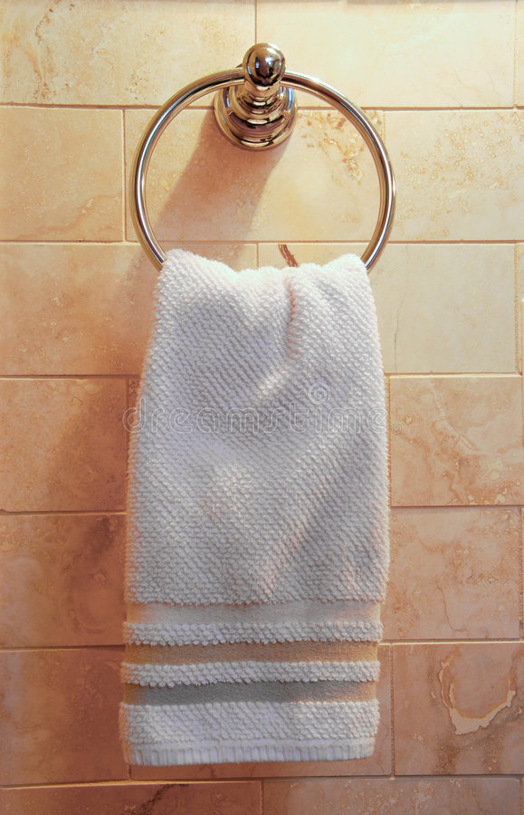 Download Hand towel stock photo. Image of bathroom, architecture - 2056484