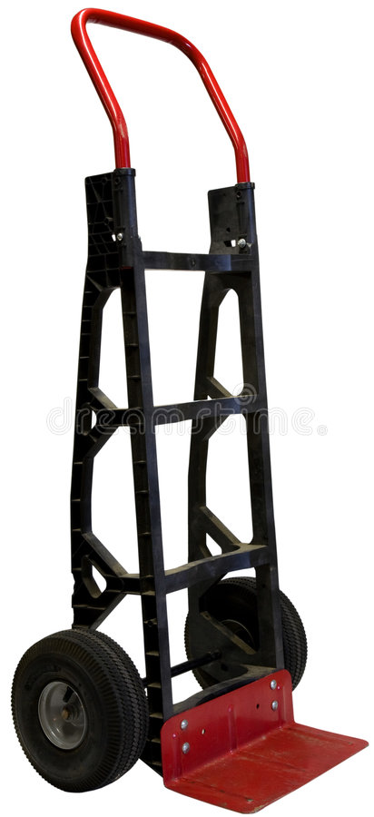 Download Hand Truck stock image. Image of equipment, packing, movers - 3096065