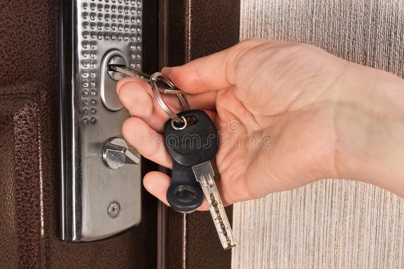 Genial Download Hand Unlocking The Door With Key Stock Image   Image Of Close,  Photography: