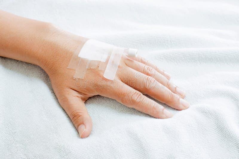Hand van de mens stock foto