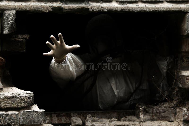 Hand van duisternis royalty-vrije stock afbeelding