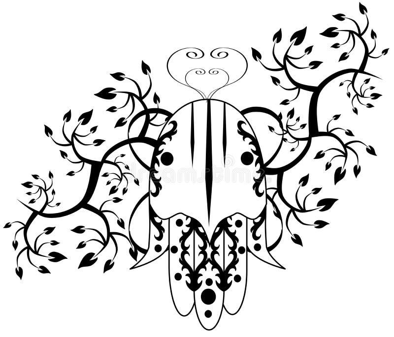 Hand van Fatima royalty-vrije illustratie