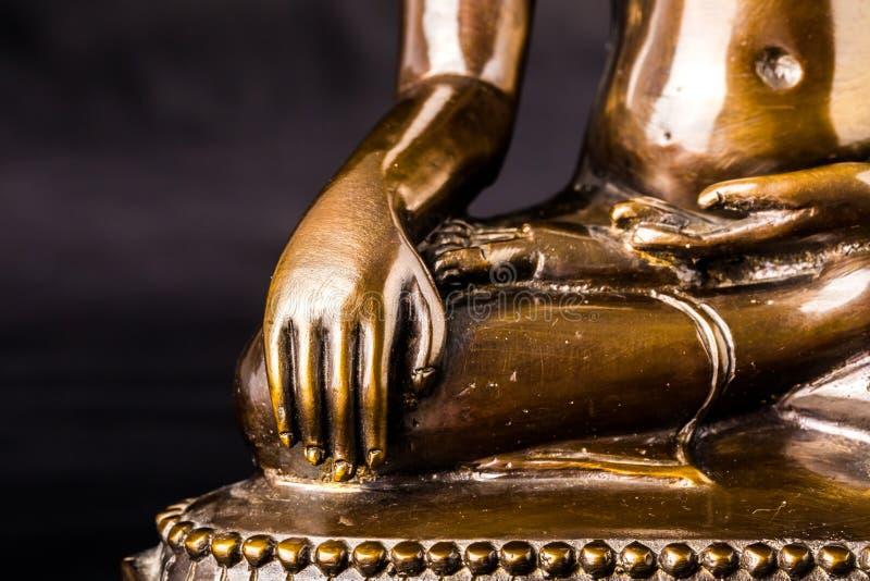 Hand van het standbeeld van Boedha royalty-vrije stock afbeelding