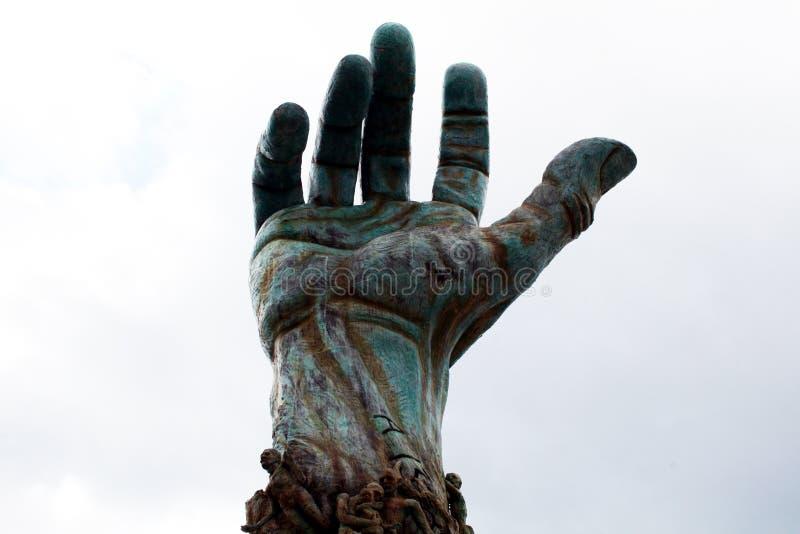 Hand van holocaust stock afbeeldingen