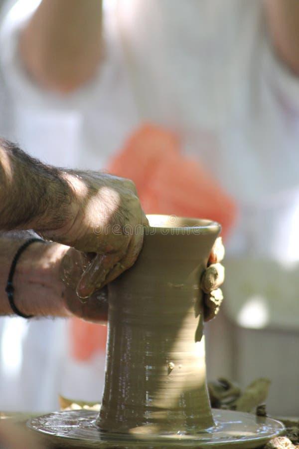hand van meester stock afbeelding