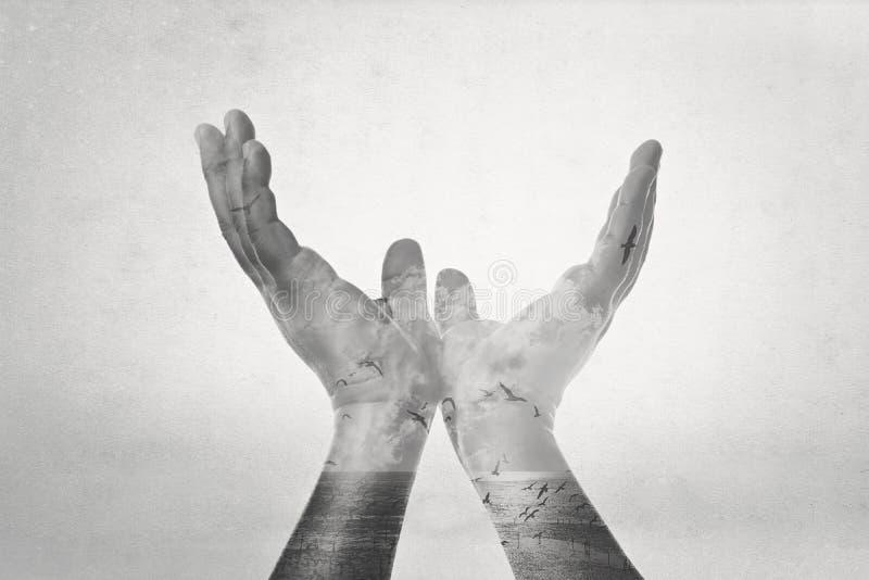 Hand van Vrijheid stock afbeelding