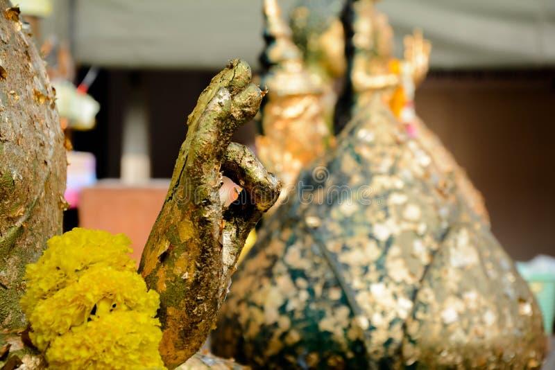 Hand von Buddha lizenzfreie stockfotografie