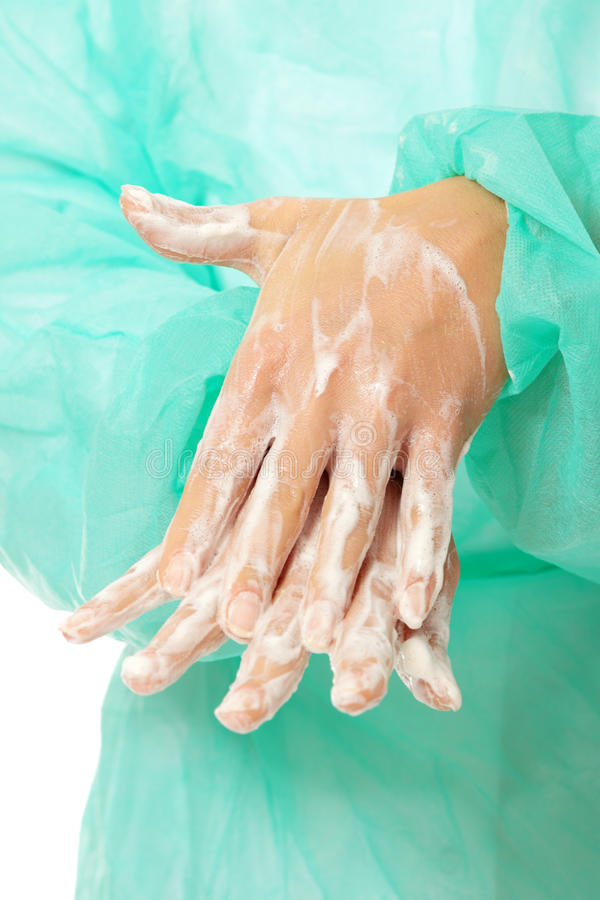 Hand washing royalty free stock images