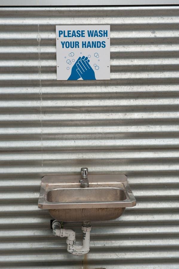 Hand Washing Station Stock Image