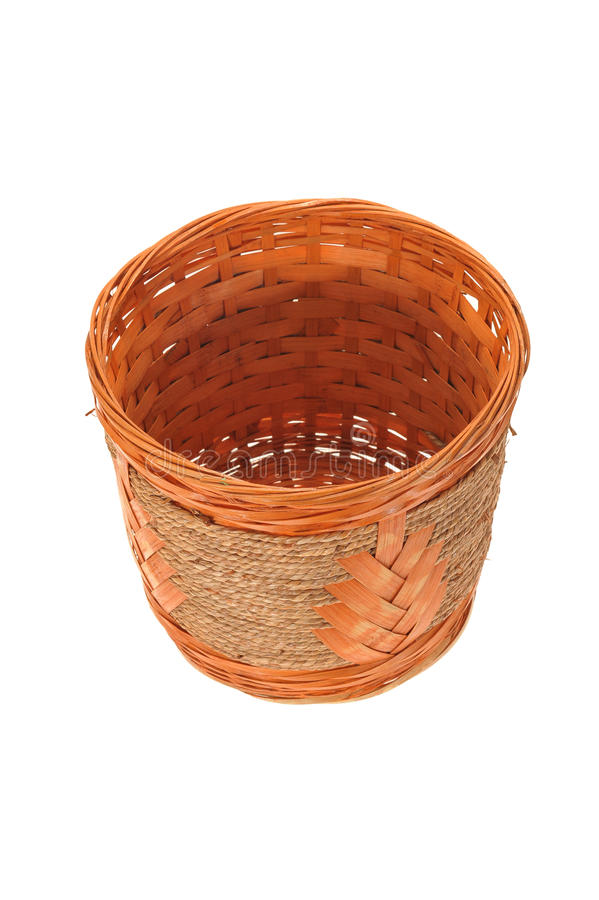 Download Hand Weave Wicker Basket stock photo. Image of traditional - 21583362