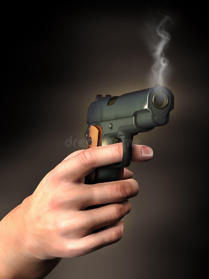 Free Hand With Gun Stock Photo - 11697290