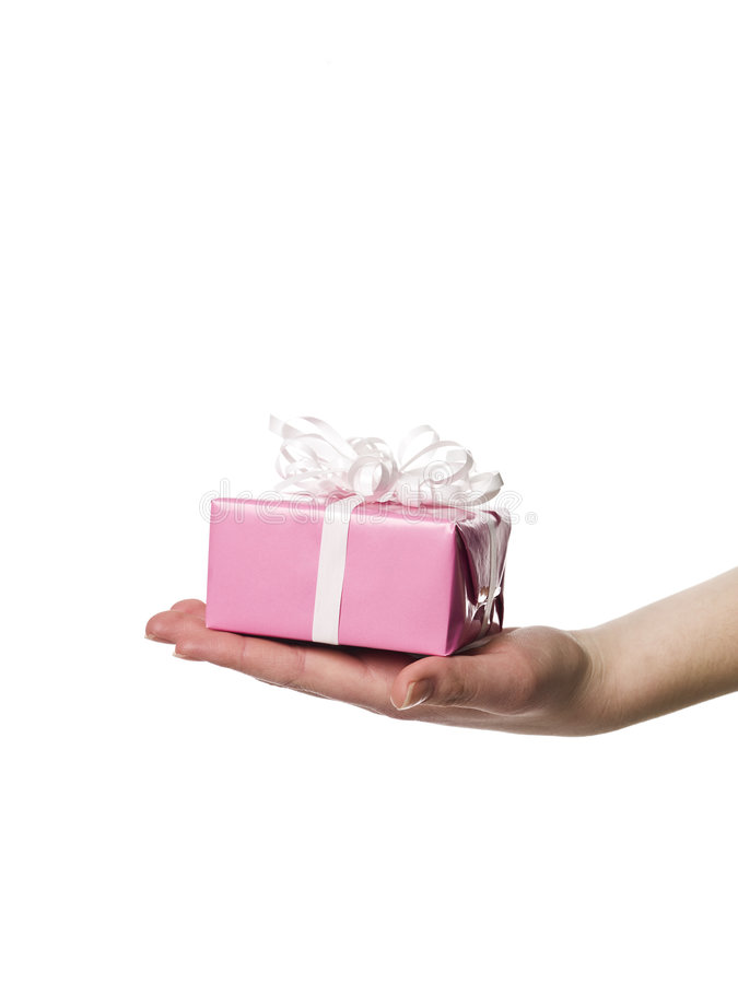 Free Hand With Present Stock Images - 9224904