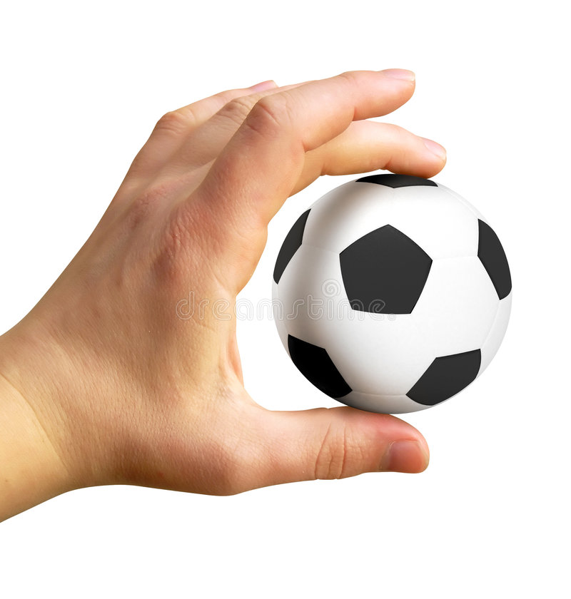Free Hand With Soccer Ball Stock Images - 3735304