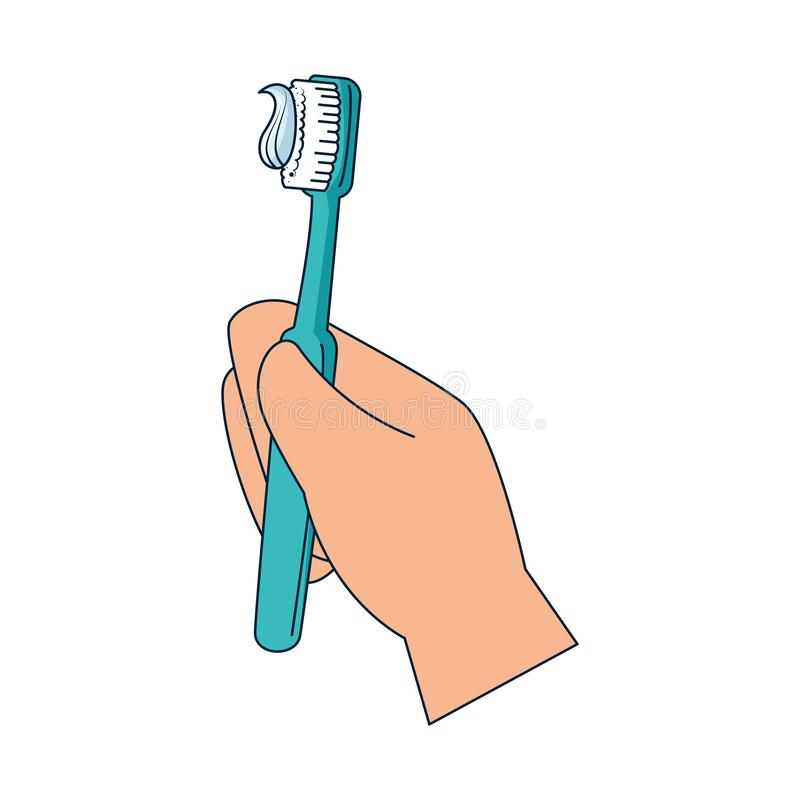 Free Hand With Tooth Brush Stock Photos - 138243823