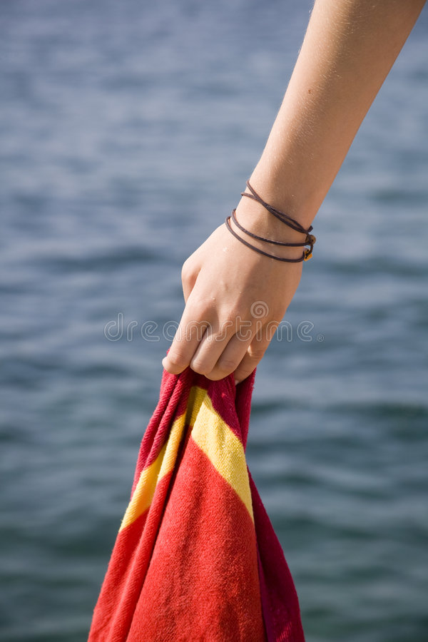 Free Hand With Towel Royalty Free Stock Image - 5881836
