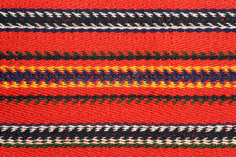 Hand woven kilim pattern. Patchwork from Balkan`s royalty free stock photography