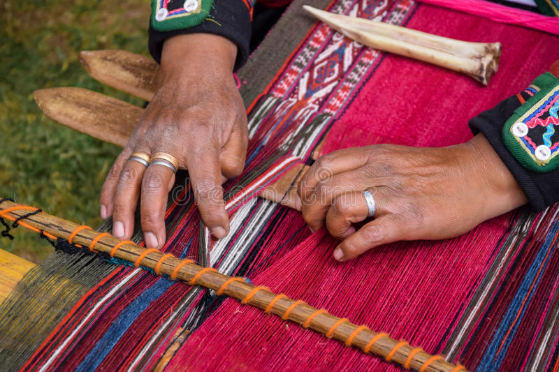 Hand Woven royalty free stock images