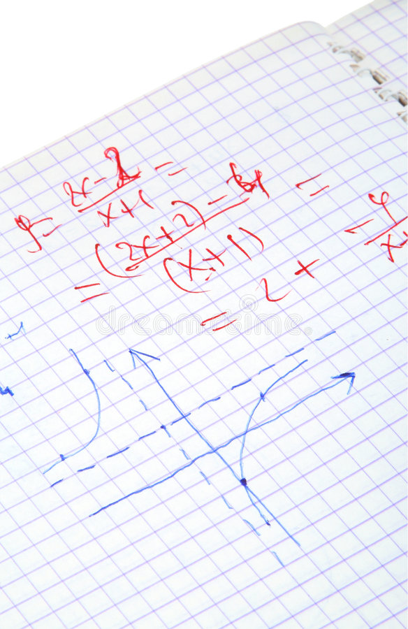 Download Hand Written Maths Calculations Stock Images - Image: 4030584