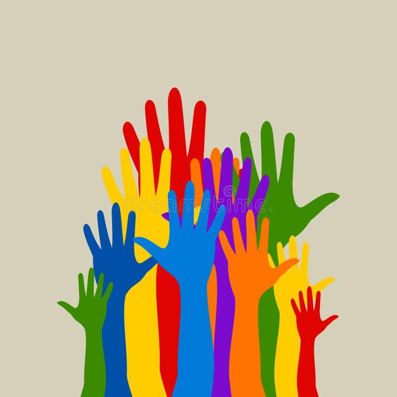 Hand3 illustrazione di stock