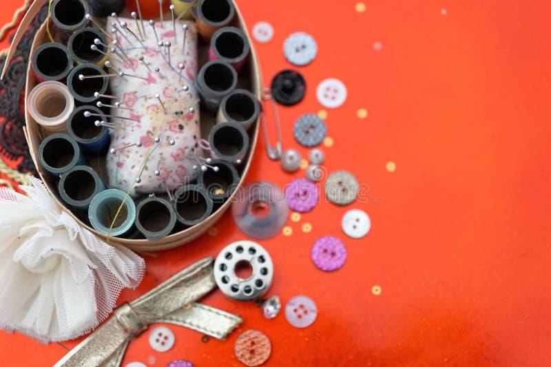 Handarbetesatsen för handcrafts royaltyfria foton