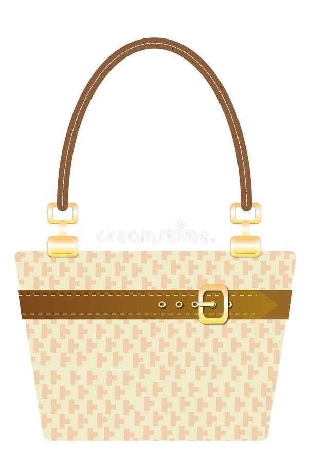 Download Handbag stock vector. Image of beige, female, fashion - 16373846